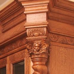 Wyposażenie gabinetu w starym stylu