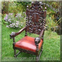 Fotele Biurowe w starym stylu