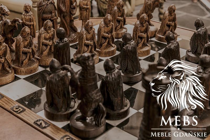 gra w szachy pionek