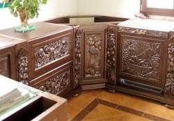 Meble rzeźbione do kuchni