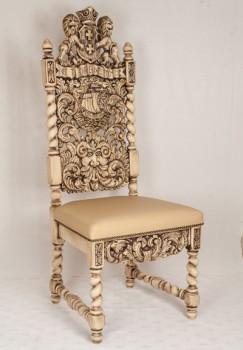 Krzesło rzeźbione