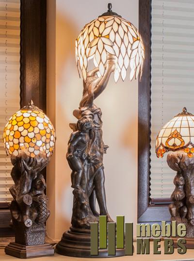 Lampka drewniana