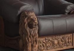 Meble rzeźbione do wypoczynku