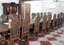 krzesła stylowe do sali konferencyjnej