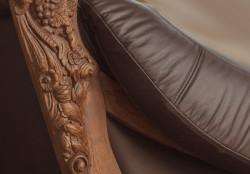 Sofa skórzana do wypoczynku
