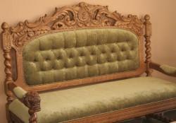 Ekskluzywna sofa wypoczynkowa do salonu