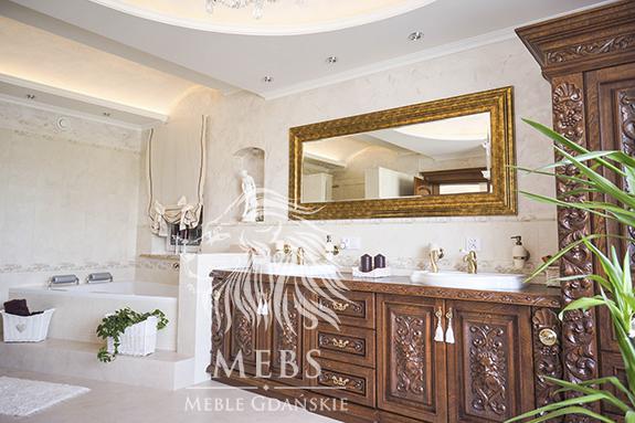stylowe meble łazienkowe