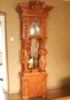 Meble stylowe zegary stojące