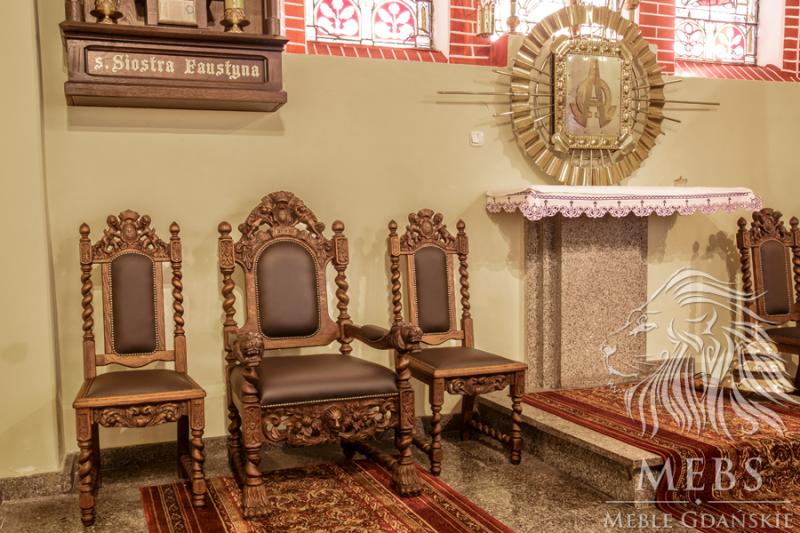 Fotel dla Księdza