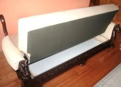 Kanapy rozkładane stylizowane na antyki
