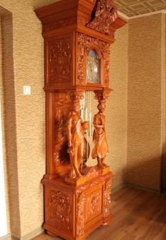 Meble w starym stylu zegary stojące
