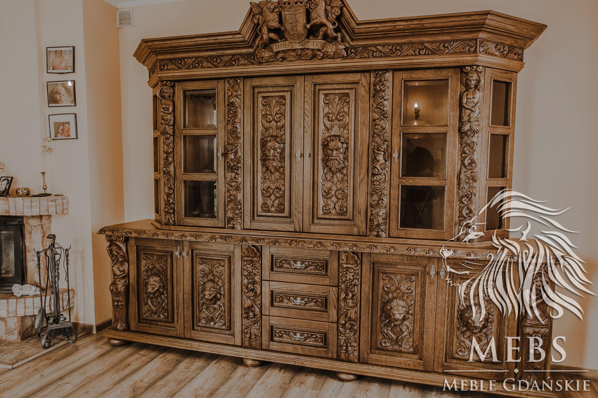 Meble Ręcznie Rzeźbione Do Pałacu Mebs Meble Gdańskie